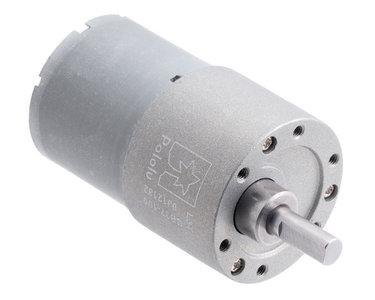 100:1 Metal Gearmotor 37Dx57L mm 12V (Helical Pinion) Pololu 4745