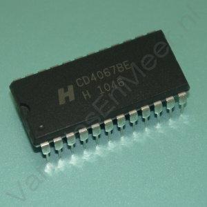 IC HEF4067BP 16-kanaals analoge multiplexer-demultiplexer