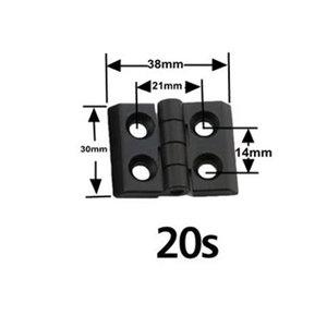 Scharnier 20x20 profiel