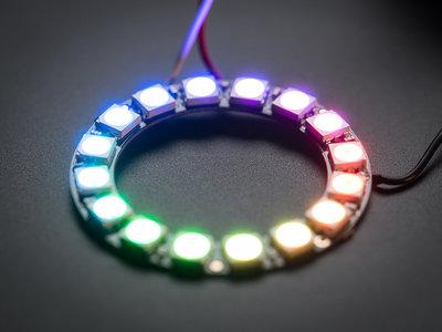 NeoPixel RGB Ring  - 16   van Adafruit 1463
