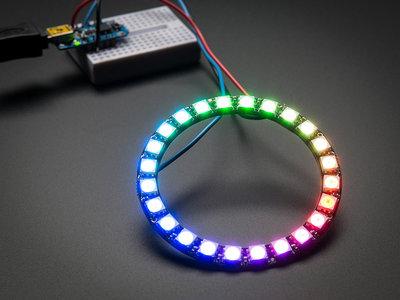 NeoPixel RGB Ring  - 24   van Adafruit 1586