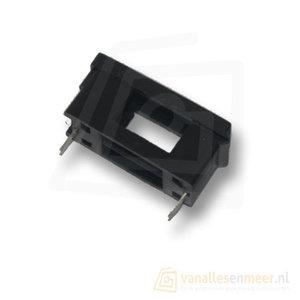 Zekeringhouder 5x20mm Printmontage