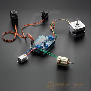 Motor/Stepper/Servo Shield for Arduino v2 Kit - v2.3 Adafruit 1438