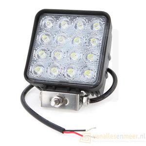 48 watt LED werklamp 12v/24v  Breedstraler 60° 48w