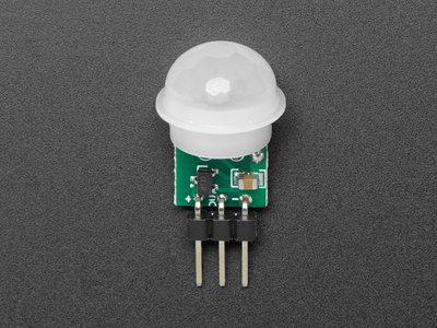 Breadboard-friendly Mini PIR Motion Sensor with 3 Pin Header Adafruit 4871