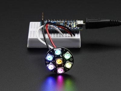 NeoPixel Jewel - 7x WS2812 5050 RGB LEDs met drivers Adafruit 2226