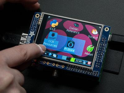 """PiTFT - 320x240 2,8 """"TFT + Touchscreen voor Raspberry Pi van Adafruit 1601"""
