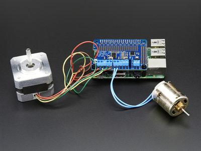 DC & Stepper Motor HAT voor Raspberry Pi van Adafruit 2348