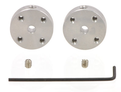 Aluminum Mounting  3mm Shaft, (2-Pack) Pololu 1996
