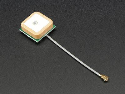 Passive GPS Antenna uFL - 15mm x 15mm 1 dBi gain Adafruit 2461