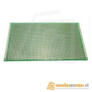 Prototyping board 8x12cm (30x42gaats) PCB dubbelzijdig