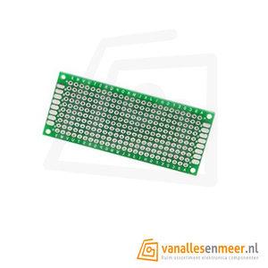 Prototyping board 3x7cm (10x24gaats) PCB dubbelzijdig