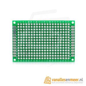 Prototyping board 4x6cm (14x20gaats) PCB dubbelzijdig