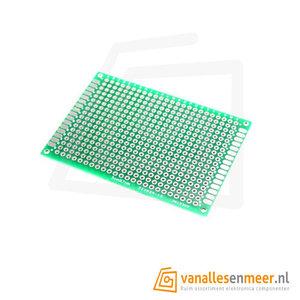 Prototyping board 5x7cm (18x24gaats) PCB dubbelzijdig