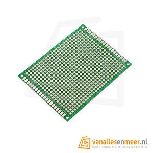 Prototyping board 6x8cm (22x27gaats) PCB dubbelzijdig