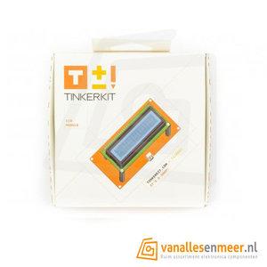 TinkerKit Text LCD 16x2 Module