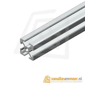 Aluminium T-sleuf Profiel 30x30 lengte 100cm
