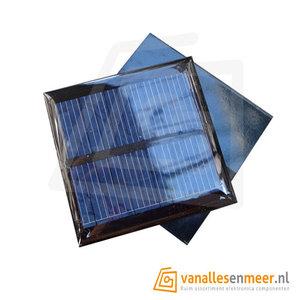 Solarcell Zonnepaneel Zonnecel 5,5V 90mA 65x65mm