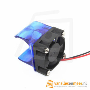 Hotend cooling Fan houder met Fan V5 E3D