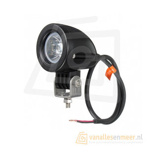 10 watt LED werklamp 12v/24v Verstraler 8° 10w