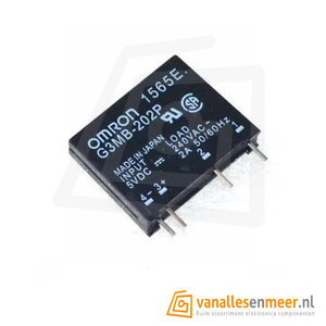 Solid state relais G3MB-202P 6V