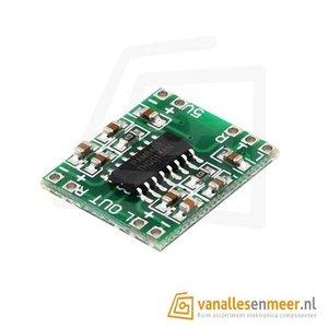 5V Amplifier Board Class D 2x3W Mini PAM8403 Audio Module