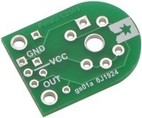 Carrier for MQ Gas Sensors (PCB Only) Pololu 1479