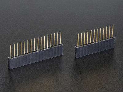 Feather Stacking Headers - 12-pin and 16-pin female headers  Adafruit 2830
