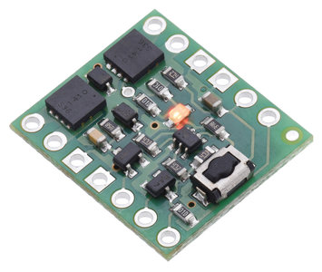 Mini Pushbutton Power Switch with Reverse Voltage Protection, LV  Pololu 2808