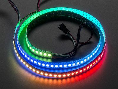 NeoPixel RGB strip 144LEDs/1m wit van Adafruit 1507