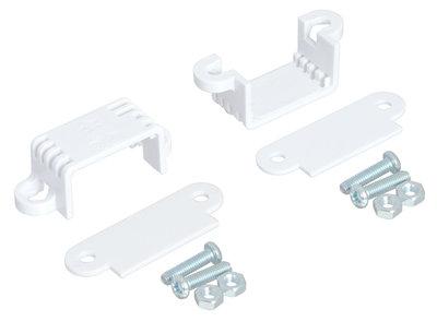 Mini Plastic Gearmotor Bracket Pair - Wide Pololu 2680