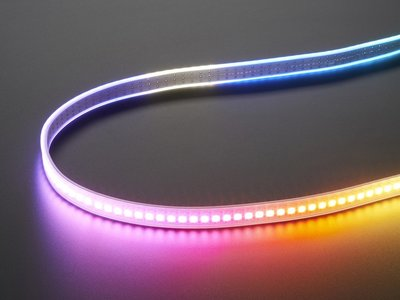 NeoPixel Digital RGBW LED Strip - White PCB 144 LED/m - 1m  Adafruit 2847