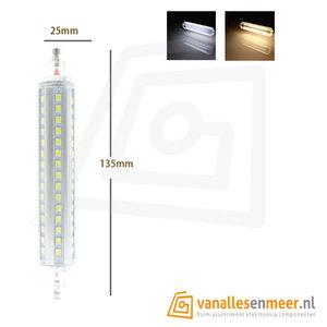 R7S 20W LED 360gr  135mm