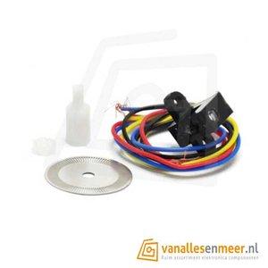motor speed sensor encoder wheel set