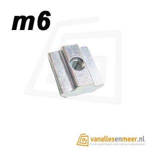 T-moer m6 6mm sleuf