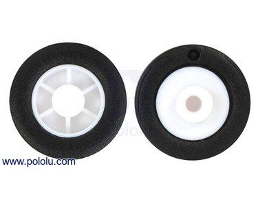 14×4.5mm Wheel Pair for Sub-Micro Plastic Planetary Gearmotors Pololu 2356