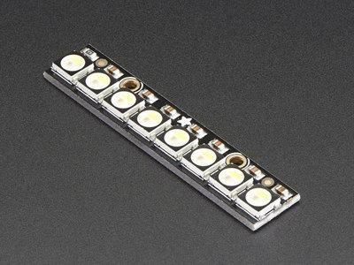 NeoPixel Stick - 8 x 5050 RGBW LEDs - Natural White - 4500K   Adafruit 2868
