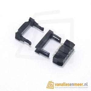 IDC bandkabel connector 10P (2x5) FC-10P