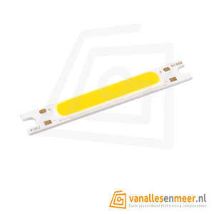 3W COB Lid strip Wit