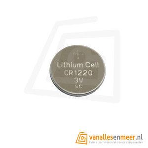 Lithium batterij CR1220