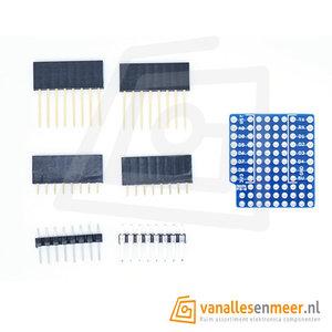 WeMos D1 mini prototyping shield