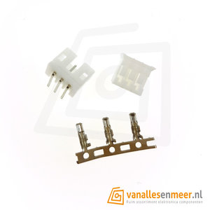 JST PH-2.0  3 pin  connector set haaks