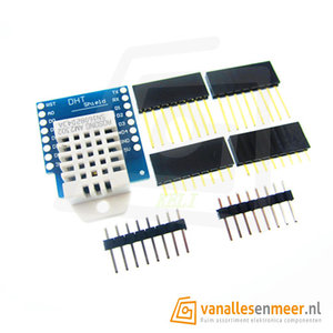 WeMos D1 mini DHT22 Shield
