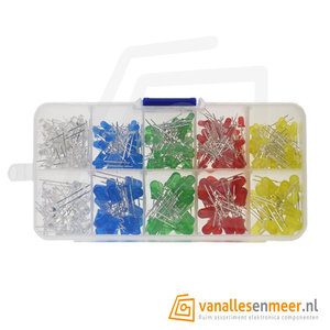 3mm led Assortiment box  200 stuks