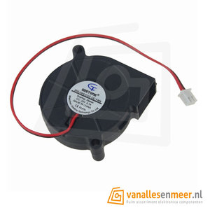 24V ventilator uitlaat fan 50x50x15