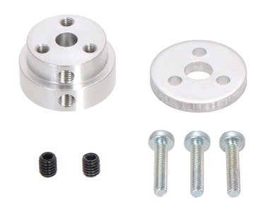 Aluminum Scooter Wheel Adapter for 5mm Shaft  Pololu 2673