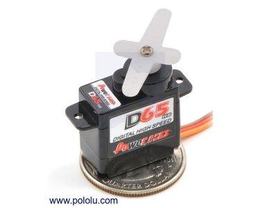 Power HD Micro Digital Servo DS65HB Pololu 1051