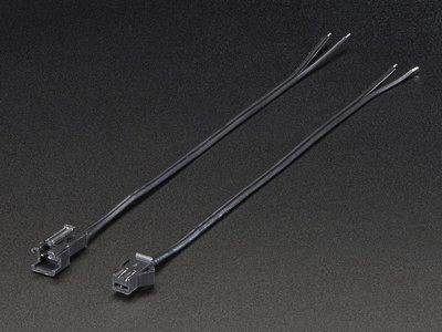 2-pin JST SM Plug + Receptacle Cable Set  Adafruit 2880