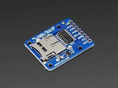 MicroSD card breakout board+ adafruit 254