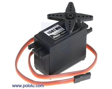 Power HD High-Torque Servo 1501MG Pololu 1057